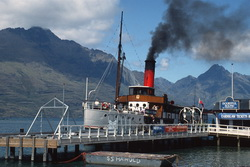 Steamship Earnslaw, New Zealand