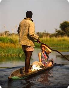 exploring the Okavango Delta
