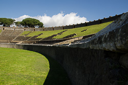 The arena at Pompeii
