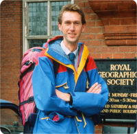 David Edwards - public speaker giving talks to schools and clubs on travel and adventure